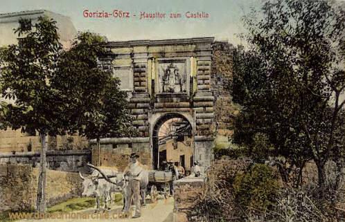 Görz, Haupttor zum Castello