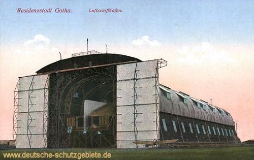 Residenzstadt Gotha. Luftschiffhafen
