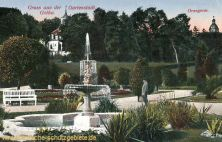 Gotha, Orangerie und englische Kirche