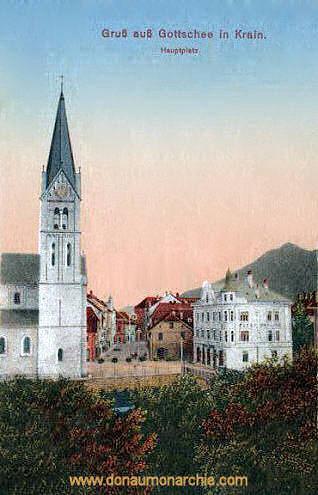 Gottschee, Hauptplatz