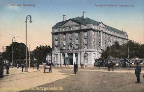 Hamburg, Esplanade-Hotel am Stephansplatz