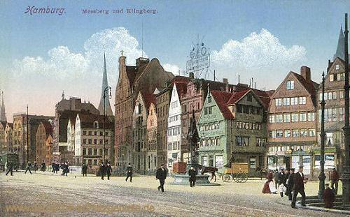 Hamburg, Messberg und Klingberg