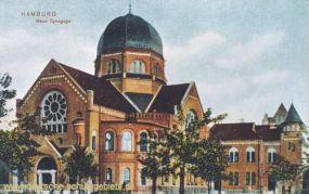 Hamburg, Neue Synagoge