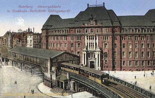 Hamburg, Steuergebäude
