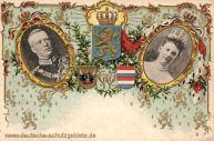 S.M. Königin Wilhelmina der Niederlande (1880-1962) heiratete 1901 S.M. Herzog Hendrik Wladimir Albert Ernst von Mecklenburg-Schwerin.