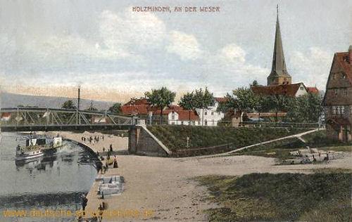 Holzminden, an der Weser