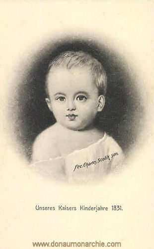 Unseres Kaisers Kinderjahre 1831 (Kaiser Franz Joseph)