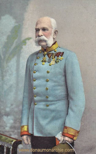 Kaiser Franz Joseph, 1908