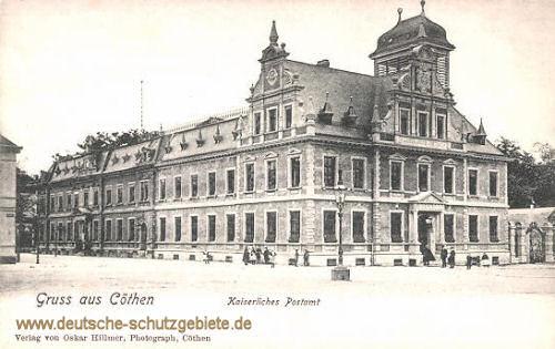 Köthen, Kaiserliches Postamt