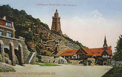 Kyffhäuser-Wirtschaft (Hotel-Burghof)