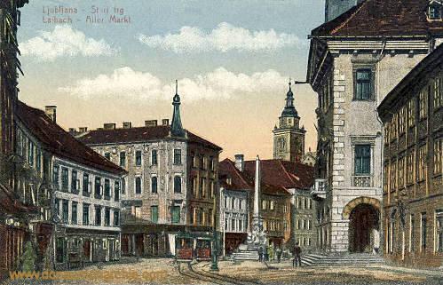 Laibach, Alter Markt