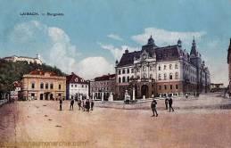 Laibach, Burgplatz