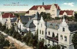Lissa i. P., Villenviertel mit katholischem Lehrerinnen-Seminar