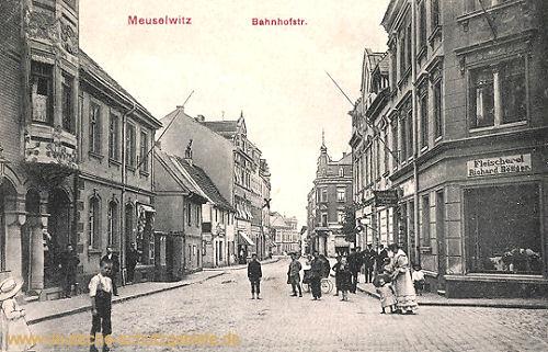 Meuselwitz S.-A., Bahnhofstraße