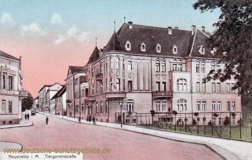 Neustrelitz, Tiergartenstraße