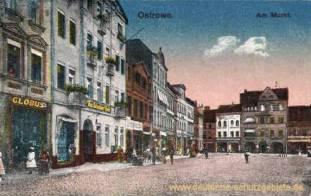 Ostrowo, Am Markt