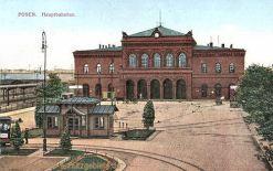 Posen, Hauptbahnhof