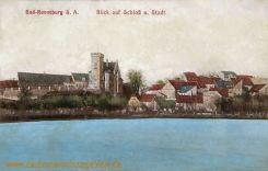 Ronneburg, Blick auf Schloß und Stadt