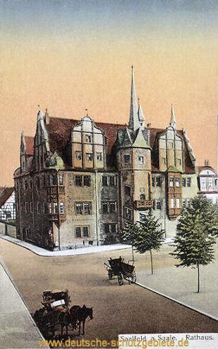 Saalfeld, Rathaus