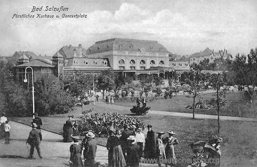 Bad Salzuflen, Fürstliches Kurhaus und Concertplatz