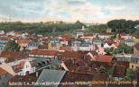 Schmölln S.A., Blick vom Kirchturm nach dem Pfefferberg