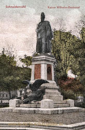 Schneidemühl, Kaiser-Wilhelm-Denkmal