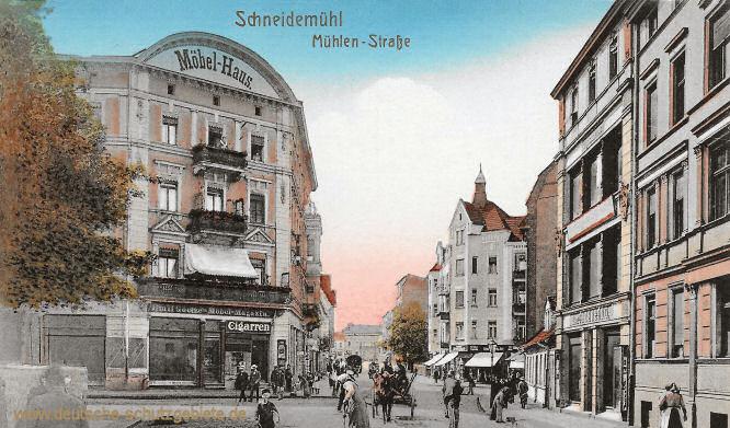 Schneidemühl, Mühlen-Straße