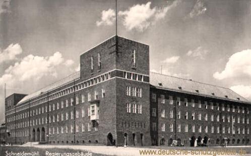 Schneidemühl, Regierungsgebäude