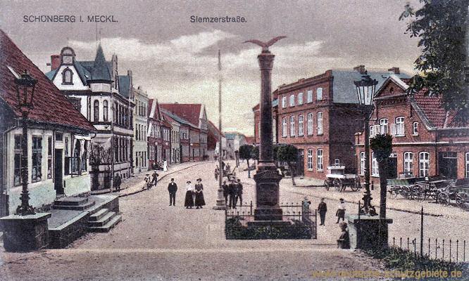 Schönberg in Mecklenburg, Siemzerstraße