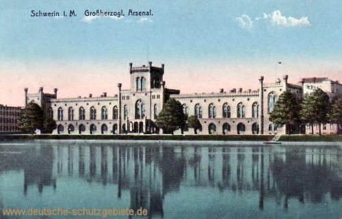Schwerin i. M., Großherzogliches Arsenal