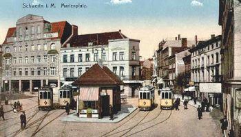 Schwerin i. M., Marienplatz