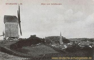 Stargard i. M., Blick vom Schäferstein