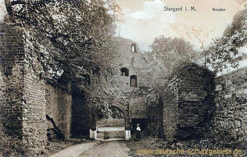 Stargard i. M., Burgtor