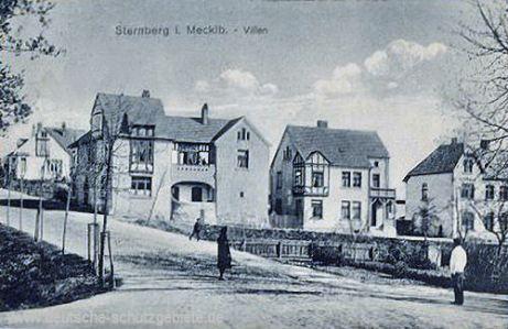 Sternberg in Mecklenburg, Villen