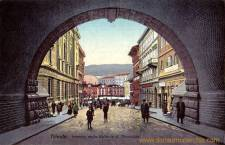 Trieste, Interno della Galleria di Montuzza