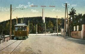 Trieste - Opcina - Obolisco