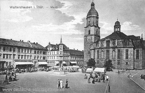 Waltershausen, Markt