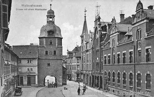Waltershausen, Nicolaustor