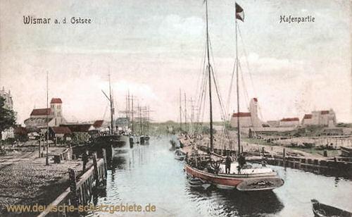 Wismar, Hafenpartie