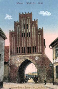 Wismar, Wassertor 1450