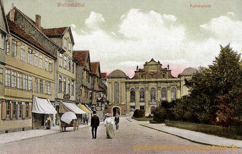 Wolfenbüttel, Kaiserplatz