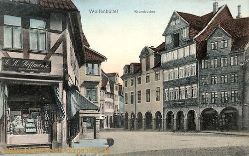 Wolfenbüttel, Krambuden