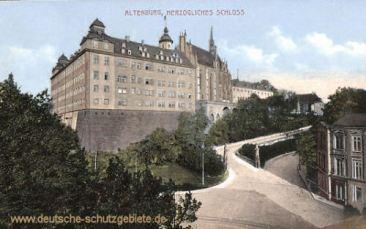 Altenburg, Herzogliches Schloss