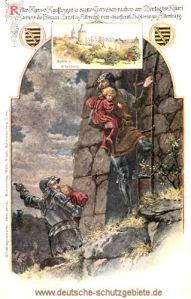 Altenburg, Ritter Kunz von Kauffungen raubt die Prinzen Ernst und Albrecht