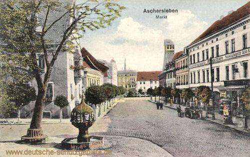 Aschersleben, Markt