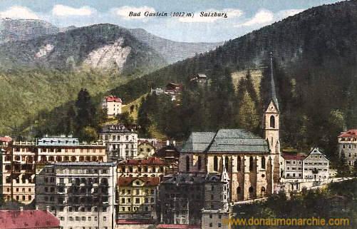 Bad Gastein (1012 m) Salzburg