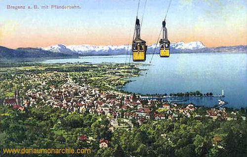 Bregenz mit Pfänderbahn