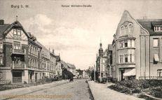 Burg b. M., Kaiser Wilhelm-Straße