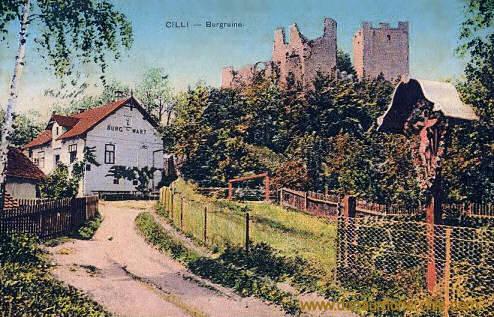 Cilli, Burgruine