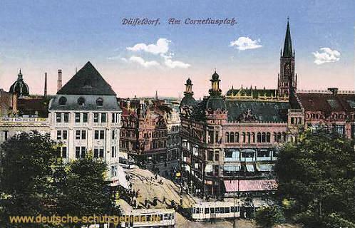Düsseldorf, Am Corneliusplatz